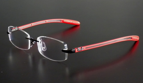 da57832bd8 Prog HD Airlens sur Ray Ban RB 8402 2509 rouge - Airlens » Airlens